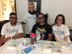 Some of our gang at PVHMC Stroke Awareness Day